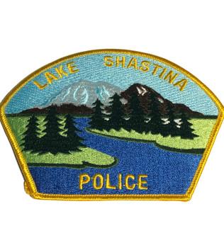 LAKE SHASTINA POLICE CA PATCH