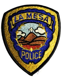 LA MESA POLICE CA PATCH