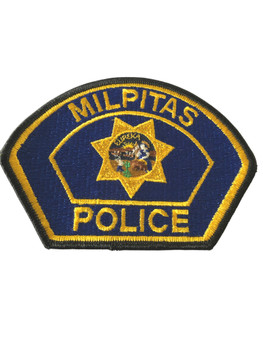 MILPITES  POLICE CA PATCH #2