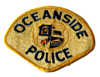 OCEANSIDE  POLICE CA PATCH OLD