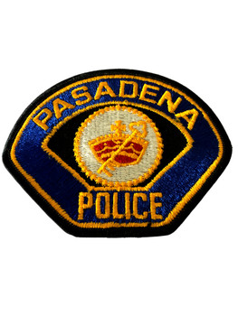 PASADENA  POLICE CA PATCH