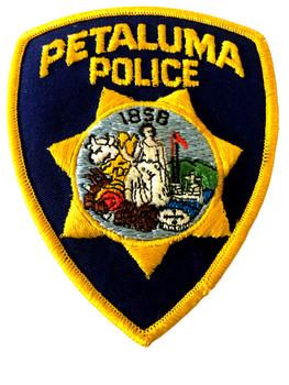 PETALUMA POLICE CA PATCH