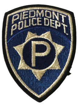 PIEDMONT  POLICE CA PATCH