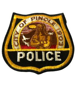 PINOLE POLICE CA PATCH