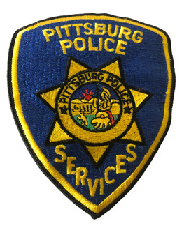 PITTSBURG  POLICE CA PATCH