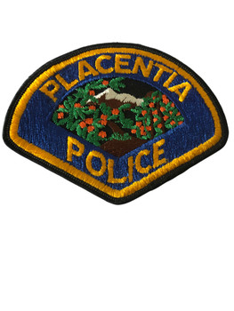 PLACENTIA   POLICE CA PATCH