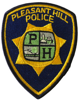 PLEASANT HILL POLICE CA PATCH
