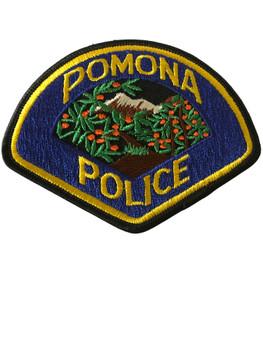 POMONA POLICE CA PATCH