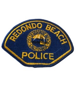 REDONDO BEACH  POLICE CA PATCH