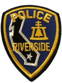 RIVERSIDE POLICE CA PATCH
