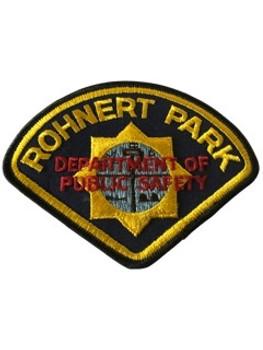 ROHNERT PARK POLICE CA PATCH
