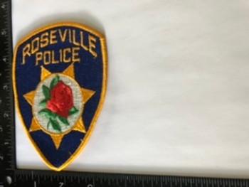 ROSEVILLE  POLICE CA PATCH