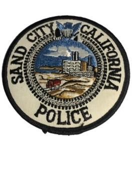 SAN CITY POLICE CA PATCH