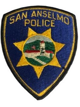 SAN ANSELMO  POLICE CA PATCH