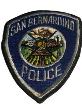 SAN BERNARDINO POLICE CA PATCH