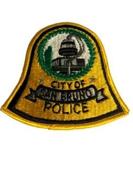 SAN BRUNO POLICE CA PATCH