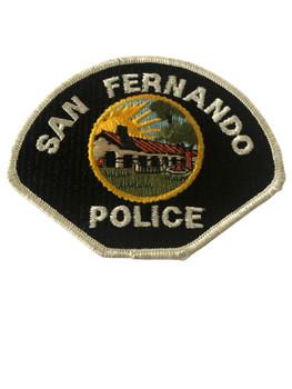 SAN FERNANDO  POLICE CA PATCH SMALL