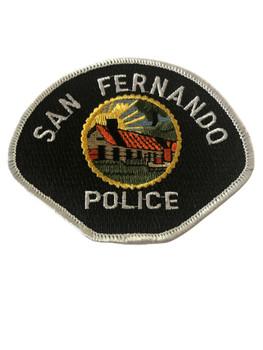 SAN FERNANDO  POLICE CA PATCH