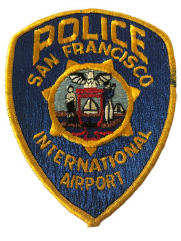 SAN FRANCISCO INTERNATIONAL AIRPORT POLICE CA PATCH