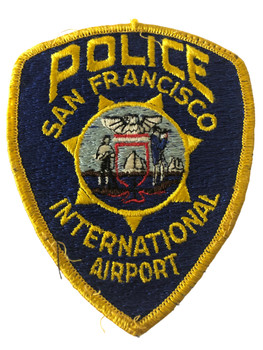 SAN FRANCISCO INTERNATIONAL AIRPORT POLICE CA PATCH 2