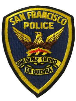 SAN FRANCISCO POLICE CA PATCH