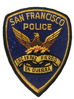 SAN FRANCISCO POLICE CA PATCH 2