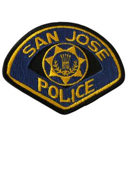 SAN JOSE  POLICE CA PATCH