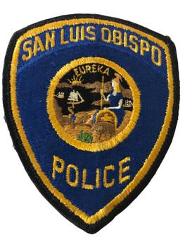 SAN LUIS OBISPO POLICE CA PATCH