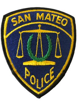 SAN MATEO POLICE CA PATCH