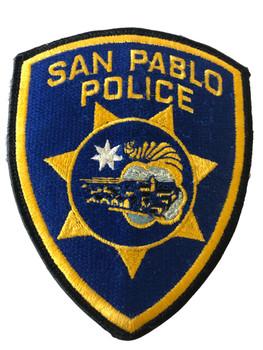 SAN PABLO POLICE CA PATCH