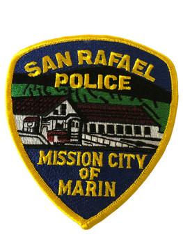 SAN RAFAEL POLICE CA PATCH