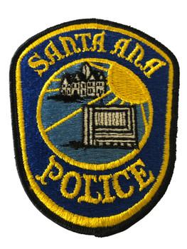 SANTA ANA POLICE CA PATCH 2