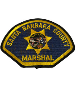 SANTA BARBARA CTY MARSHAL POLICE CA PATCH