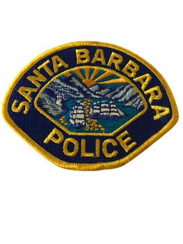SANTA BARBARA POLICE CA PATCH
