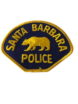 SANTA BARBARA POLICE CA PATCH OLD
