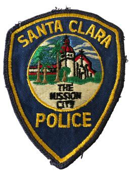 SANTA CLARA POLICE CA PATCH