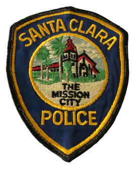 SANTA CLARA POLICE CA PATCH 2