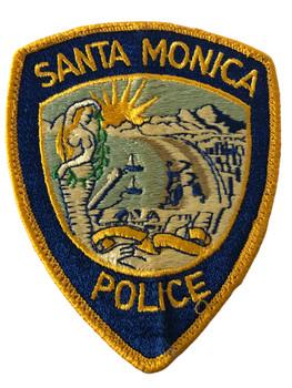 SANTA MONICA POLICE CA PATCH 2
