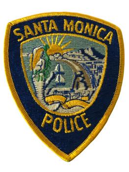 SANTA MONICA POLICE CA PATCH