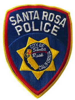 SANTA ROSA POLICE CA PATCH