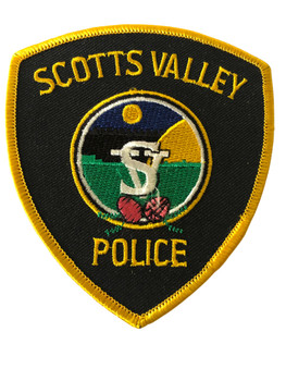 SCOTTS VALLEY  POLICE CA PATCH