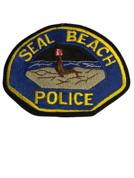 SEAL BEACH  POLICE CA PATCH