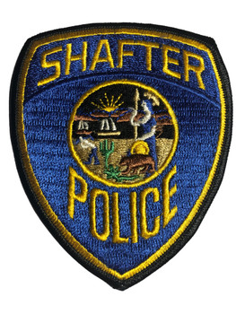 SHAFTER POLICE CA PATCH