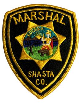 SHASTA CTY MARSHAL POLICE CA PATCH