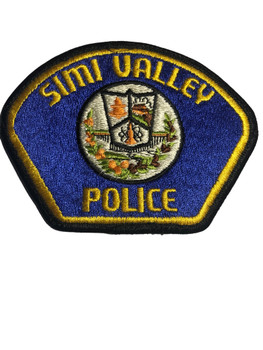 SIMI VALLEY POLICE CA PATCH