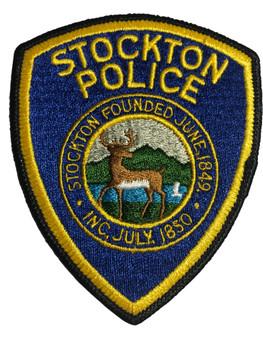 STOCKTON POLICE CA PATCH