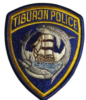 TIBURON POLICE CA PATCH