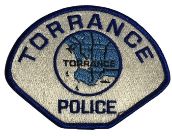 TORRANCE  POLICE CA PATCH