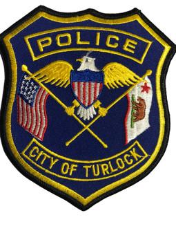 TURLOCK  POLICE CA PATCH
