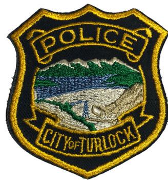 TURLOCK  POLICE CA PATCH 2